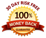 30 Day Risk Free - 100 % Money Back Guarantee